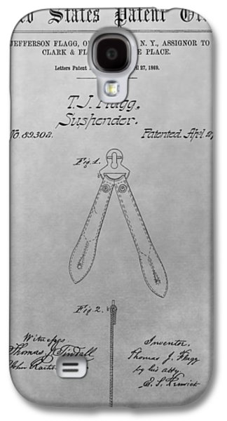 Suspender Patent Drawing Galaxy S4 Case