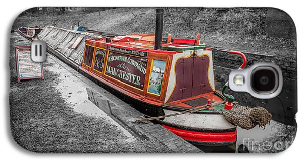 Swallow Galaxy S4 Case - Swallow Canal Boat by Adrian Evans