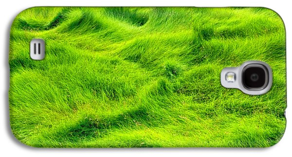 Swamp Grass Abstract Galaxy S4 Case