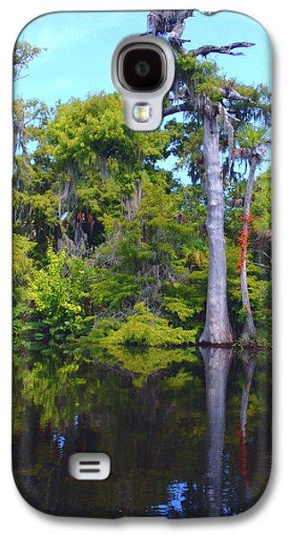 Osprey Galaxy S4 Case - Swamp Land by Carey Chen