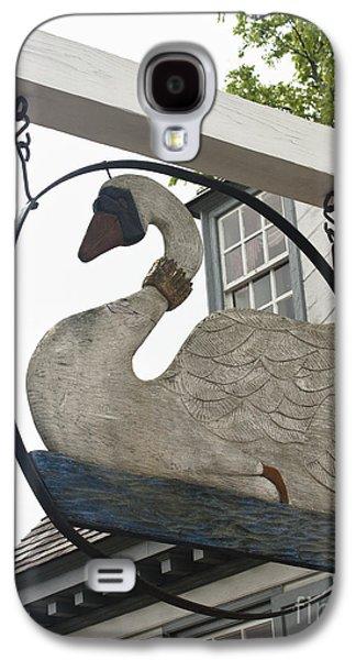 Swan Tavern Sign Yorktown Galaxy S4 Case by Teresa Mucha
