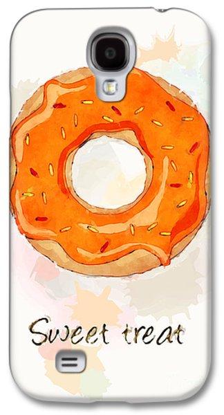 Sweet Treat Orange Galaxy S4 Case by Jane Rix