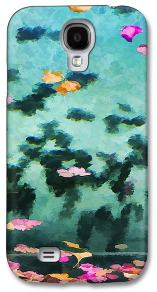 Swirling Leaves And Petals 2 Galaxy S4 Case