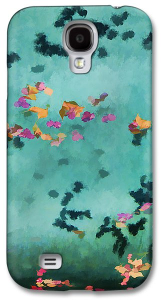 Swirling Leaves And Petals 5 Galaxy S4 Case