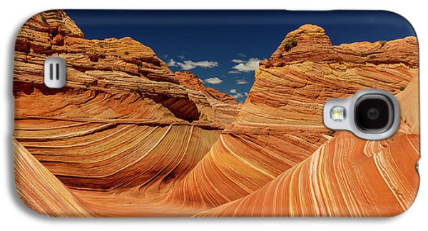 Swirling Sandstone Of The Wave Galaxy S4 Case by Chuck Haney