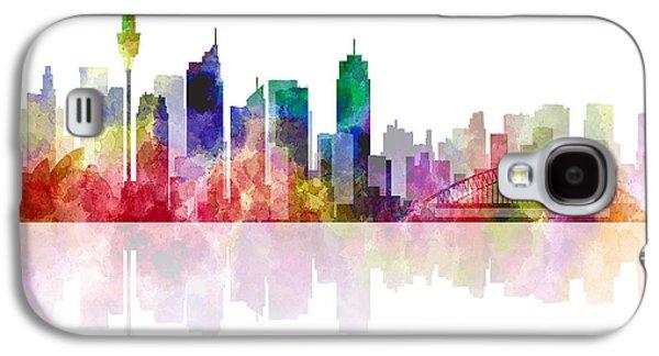 Sydney Australia Skyline 2 Galaxy S4 Case by Daniel Hagerman