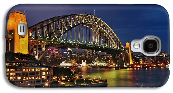 Sydney Harbour Bridge By Night Galaxy S4 Case