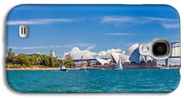 Sydney Harbour Skyline 1 Galaxy S4 Case by Az Jackson