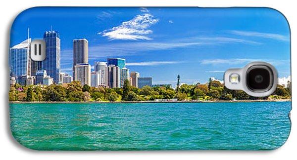 Sydney Harbour Skyline 3 Galaxy S4 Case by Az Jackson