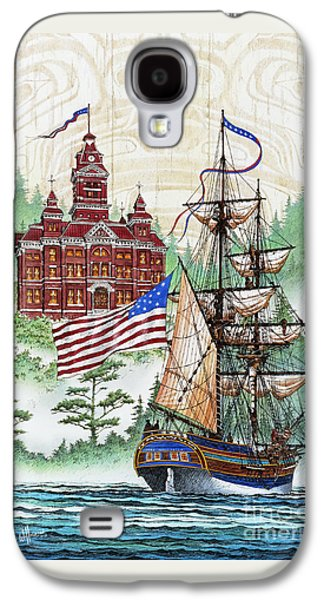 Symbols Of Our Heritage Galaxy S4 Case by James Williamson