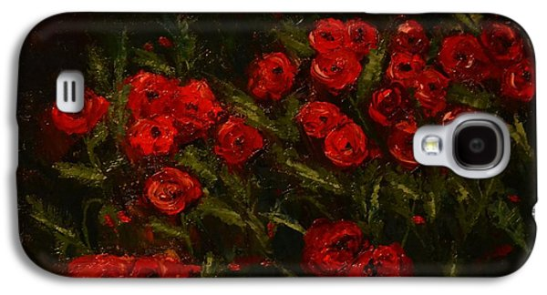 Symphony In Coquelicot Galaxy S4 Case