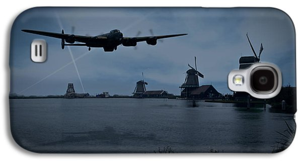 Dambusters Lancaster T For Tommy En Route To The Sorpe Galaxy S4 Case