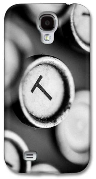 T Is For Typewriter Galaxy S4 Case
