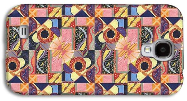 T J O D Tile Variations 16 Galaxy S4 Case
