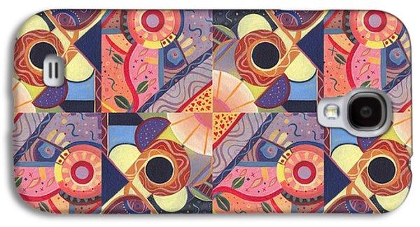 T J O D Tile Variations 18 Galaxy S4 Case