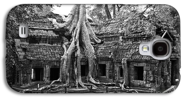 Ta Prohm Temple 01 Galaxy S4 Case by Rick Piper Photography