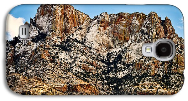 Galaxy S4 Case featuring the photograph Table Mountain In Winter 42 by Mark Myhaver