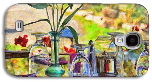 Table Setting Reflections Galaxy S4 Case