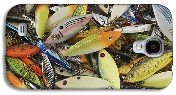Tackle Box Tangle Galaxy S4 Case by Jerry McElroy