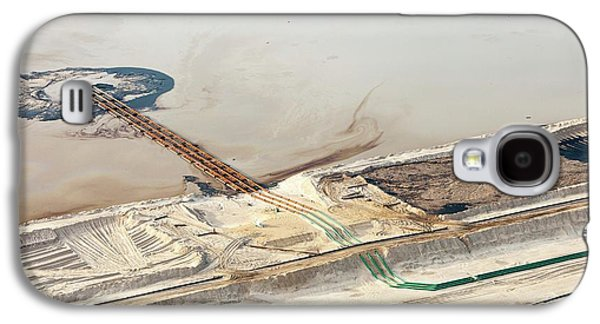 Tailings Pond At Syncrude Mine Galaxy S4 Case