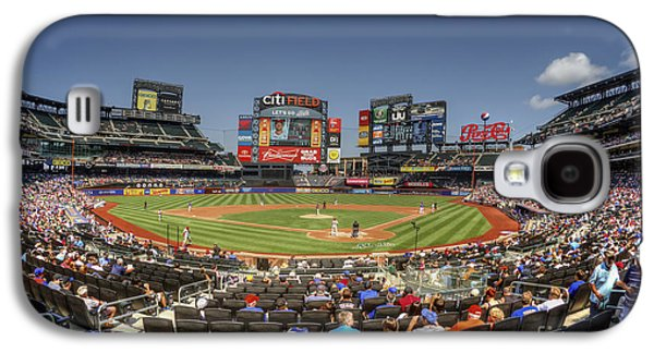 New York Mets Galaxy S4 Case - Take Me Out To The Ballgame by Evelina Kremsdorf