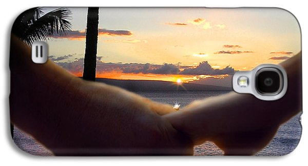 Take My Hand Galaxy S4 Case by Doug Kreuger