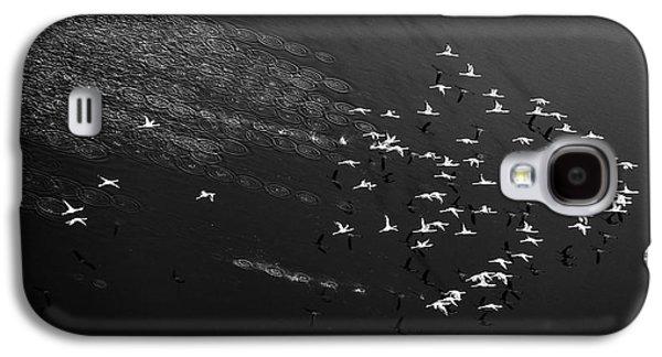 Helicopter Galaxy S4 Case - Take Off by John Fan