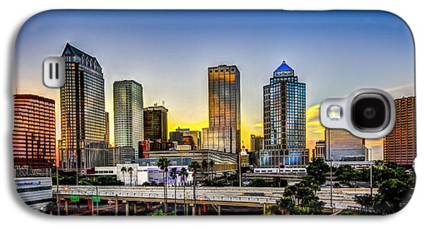 Tampa Skyline Galaxy S4 Case by Marvin Spates