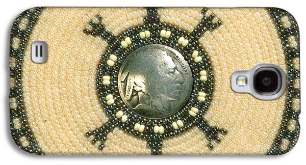 Tan Indian Turtle Galaxy S4 Case by Douglas K Limon