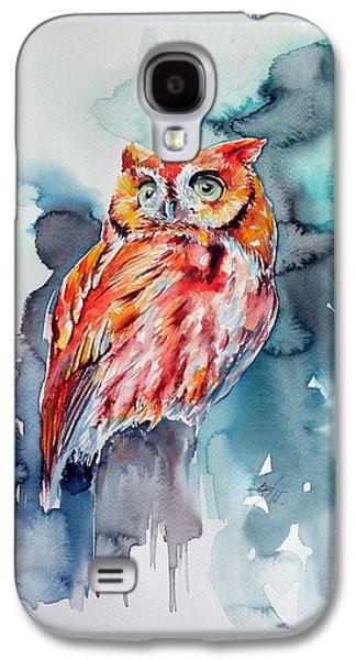 Tangerine Owl  Galaxy S4 Case
