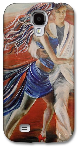 Tango Whirl Wind Galaxy S4 Case by Summer Celeste