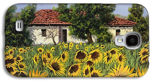 Tanti Girasoli Davanti Galaxy S4 Case by Guido Borelli