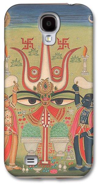 Tantra Tantrik Artwork Painting Hindu Mysterious Art Painting Artist  Galaxy S4 Case