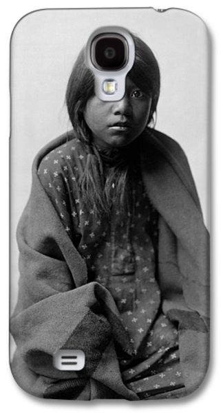 Taos Girl Circa 1905 Galaxy S4 Case