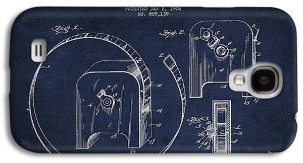 Tape Measure Patent Drawing From 1906 Galaxy S4 Case by Aged Pixel