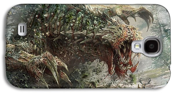 Magician Galaxy S4 Case - Tarmogoyf Reprint by Ryan Barger