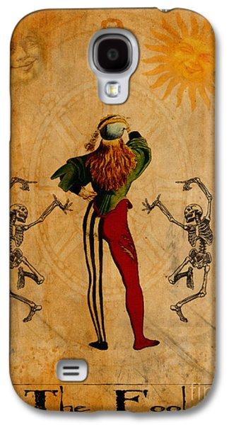Tarot Card The Fool Galaxy S4 Case by Cinema Photography