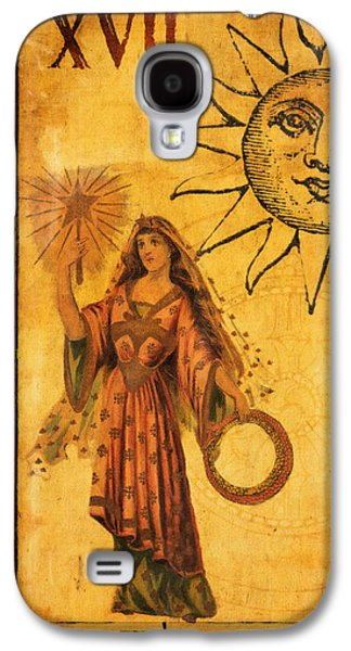 Tarot Card The Star Galaxy S4 Case by Cinema Photography