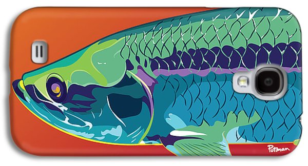 Tarpon Colors Galaxy S4 Case by Kevin Putman
