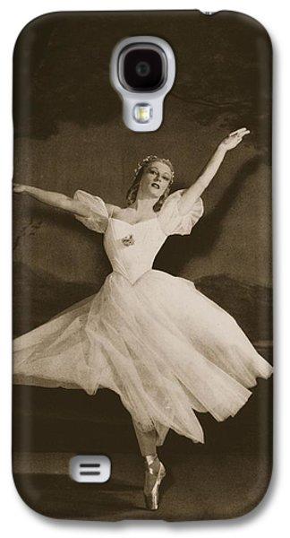 Tatiana Riabouchinska In Les Sylphides Galaxy S4 Case
