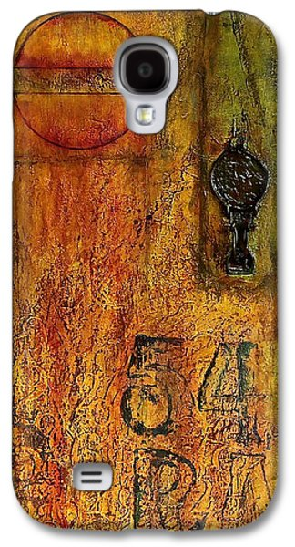 Tattered Wall  Galaxy S4 Case by Bellesouth Studio