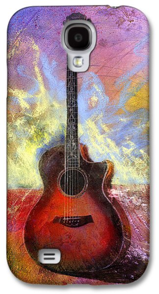 Guitar Galaxy S4 Case - Taylor by Andrew King