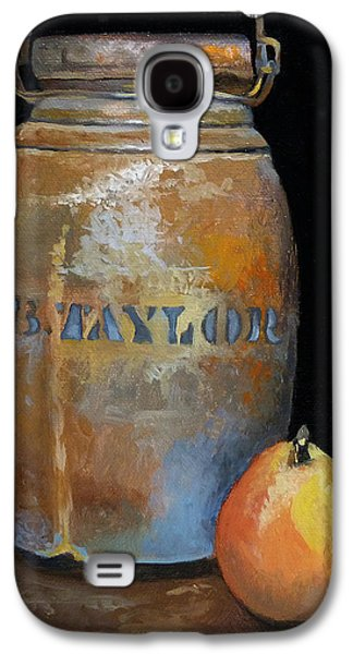 Taylor Jug With Pear Galaxy S4 Case by Catherine Twomey