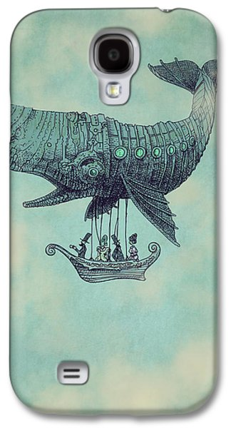 Fantasy Galaxy S4 Case - Tea At Two Thousand Feet by Eric Fan
