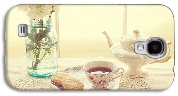 Tea Time Galaxy S4 Case by Kay Pickens