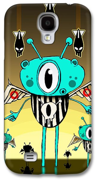 Team Alien Galaxy S4 Case by Johan Lilja