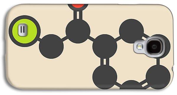 Tear Gas Molecule Galaxy S4 Case by Molekuul