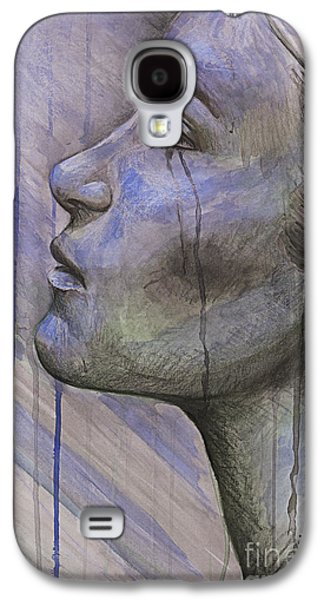 Tears In The Rain Galaxy S4 Case by Michael Volpicelli