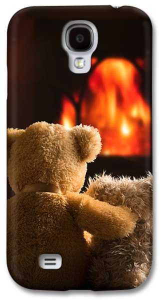 Teddies By The Fire Galaxy S4 Case
