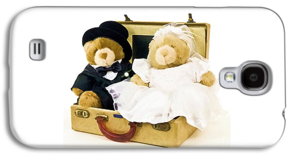Teddy Bear Honeymoon Galaxy S4 Case by Edward Fielding